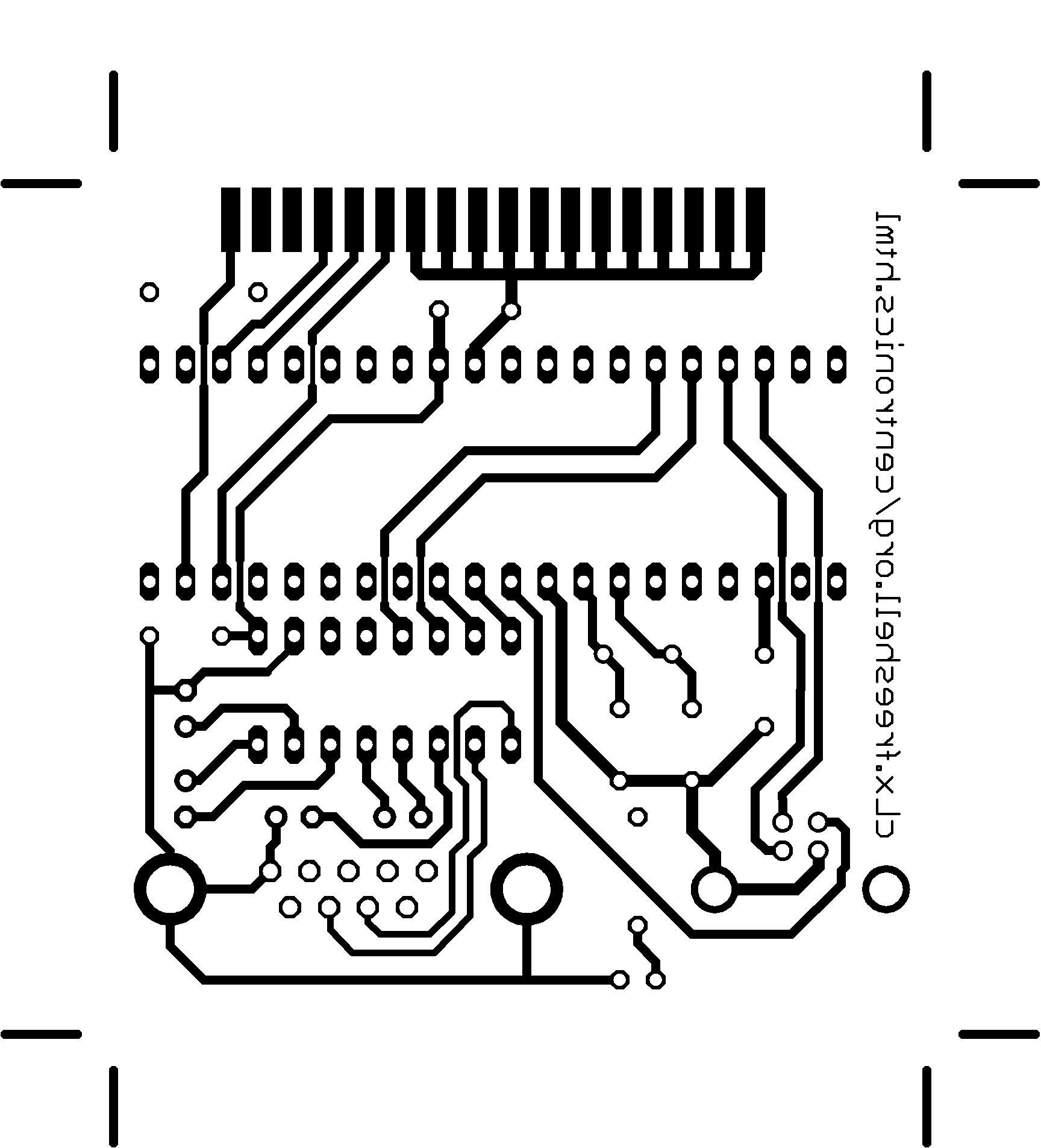 cLx freeshell org - Adaptateur USB/RS232 -> Centronics pour