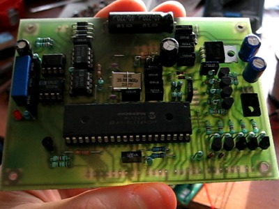 fog machine control board